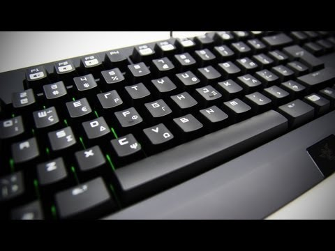Razer BlackWidow Ultimate 2013 Greek Edition Unboxing & Review (Mechanical Gaming Keyboard)