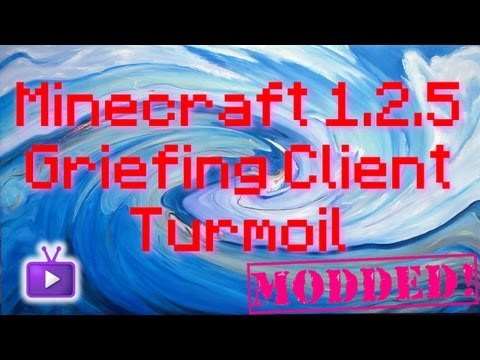Minecraft - 1.2.5 Griefing Client - Turmoil + Download, ft. WiZARD HAX
