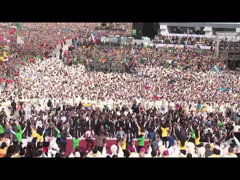 JMJ 28/07/2013 - Flash Mob