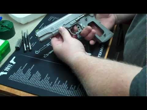 Taurus PT1911 Mag Guide Install