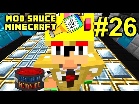 Minecraft Mod Sauce Ep. 26 - Ender Power !!! ( HermitCraft Modded Minecraft )