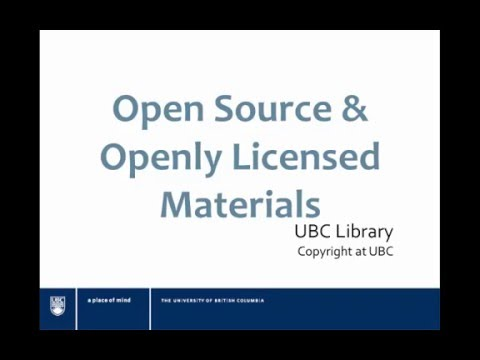 Open Source and Openly Licenced material for Open Educational Resource Repositories
