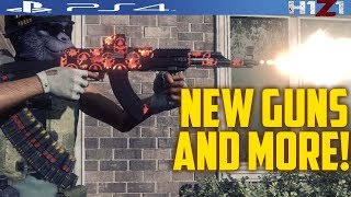 NEW PS4 H1Z1 UPDATE(H1Z1 PS4 NEW WEAPONS AND MORE!!!)H1Z1 PS4 NEW UPDATE 1.44 PATCH NOTES