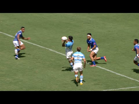 NFL pass wins 7s match for Argentina!
