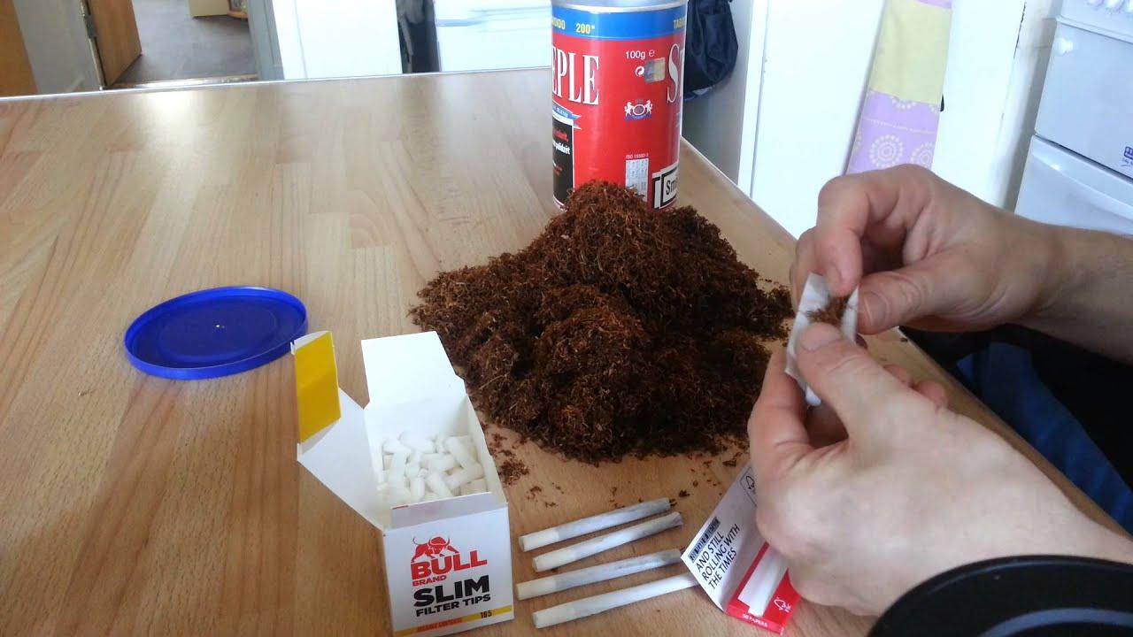 Как сделать сигареты в домашних условиях из того что есть