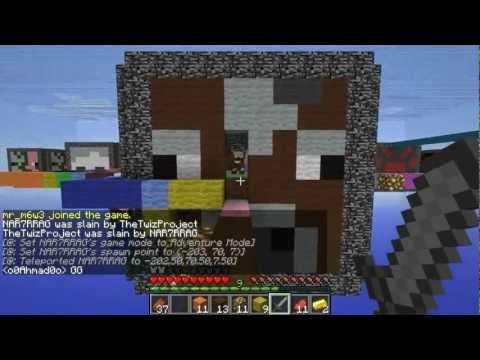 Minecraft: Cube Control | ماينكرافت: السيطرة علي المكعبات