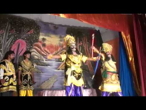 Subahu Va Marich In Kumaun Ramlila video
