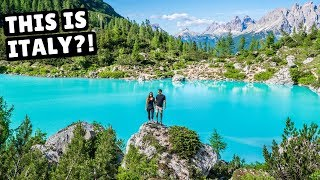 ALMOST DISASTROUS HIKE IN THE DOLOMITES (can't believe this is Italy)