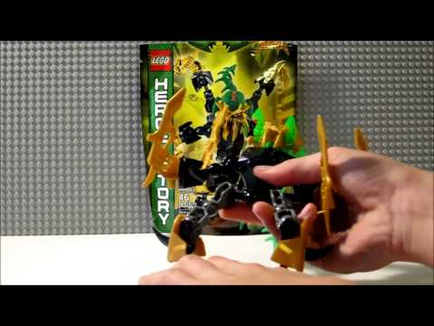 Lego Hero Factory 2013 Brain Attack Scarox Review
