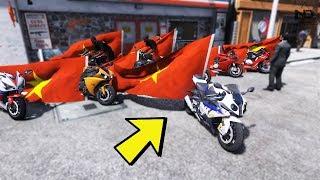 GTA 5 - Đoàn moto PKL đi bão mừng U23 Việt Nam | ND Gaming
