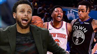 Steph Curry Frustrated As The Knicks DESTROY The Warriors & Make Them The WORST Team In NBA!