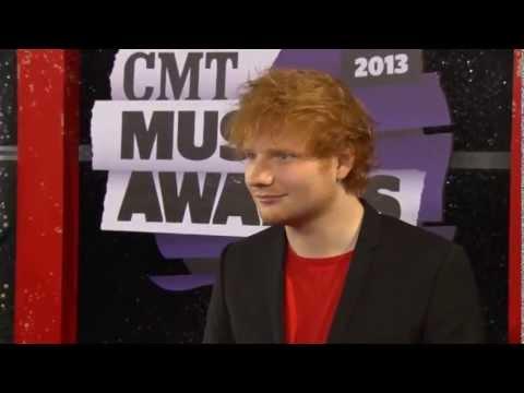 Ed Sheeran Cmt Music Awards video