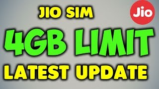 UPDATE | Jio Daily 4GB DATA limit | It Removes or Not! | Go Back to Preview Offer?