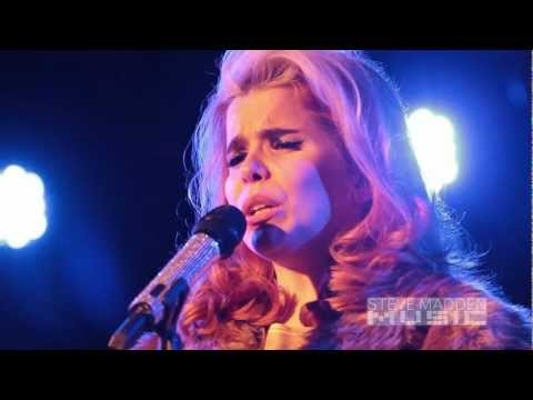 "Steve Madden Music Exclusive: Paloma Faith Performs ""Black & Blue"""