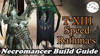 Diablo 3 Necromancer Build Guide - Speed T13 Rathma's Mages Fast and Easy