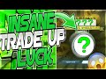 INSANE TRADE UP LUCK DOUBLE DROP RATE ON ROCKET LEAGUE YOU WON T BELIEVE WHAT I GOT mp3