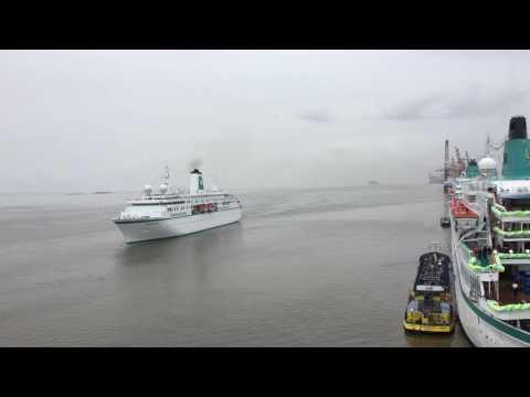 Phoenix Reisen Flottentreffen, 4 Kreuzfahrtschiffe In Bremerhaven