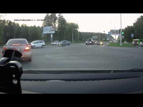 ДТП Новосибирск Академгородок (видеорегистратор)