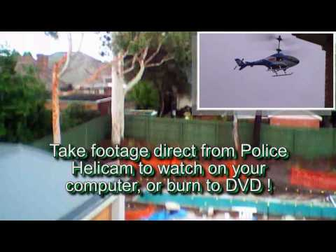 Police Helicam Flying Video / Stills camera - Helicopter camera