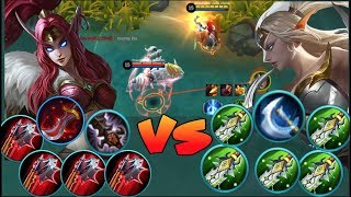 FULL LIFE STEAL IRITHEL VS FULL DAMAGE IRITHEL (Mobile Legends)