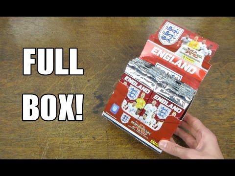 England 2016 Adrenalyn XL - FULL BOX OPENING! - UEFA Euro 2016