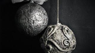 Jak zrobić bombki wyglądające jak ze starego srebra -Pomysły plastyczne dla każdego