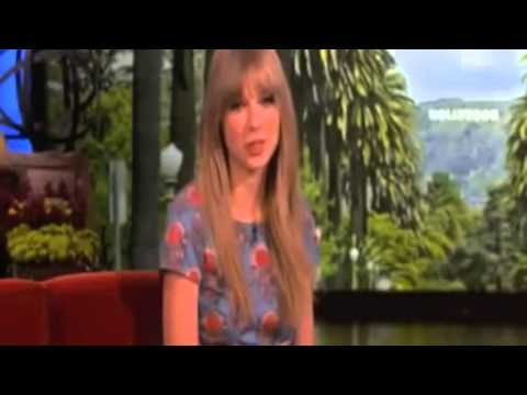 Taylor Swift gets scared by Ellen 8 Times)