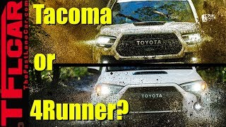 Toyota Tacoma TRD Pro or 4Runner TRD Pro? | What Car or Truck Should I Buy Ep.  17