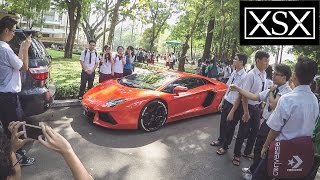 Student, Saigonese & Tourist's Reaction to Lamborghini Aventador | XSX