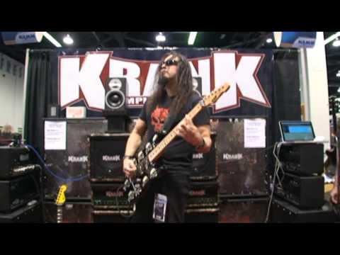 NAMM 2010. Krank. Michael Wilton of Queensryche