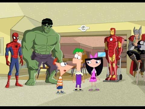 Финес и Ферб - Финес и Ферб: Миссия Marvel. Часть 1 (Сезон 4 Серия 9)