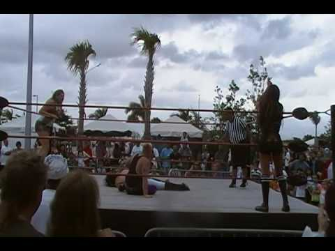 DWB Matthew Schaller & Jessica Haze vs. Romeo Razel Quevedo and Isis the Amazon