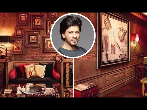 Shahrukh Khan House Mannat Inside Video