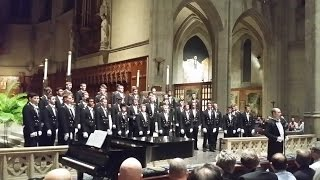 Usna Glee Club The Navy Hymn Eternal Father Spring Concert Tour 2016