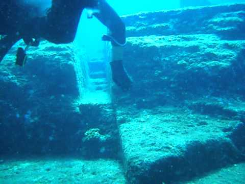 Yonaguni Jima ruins - YouTube