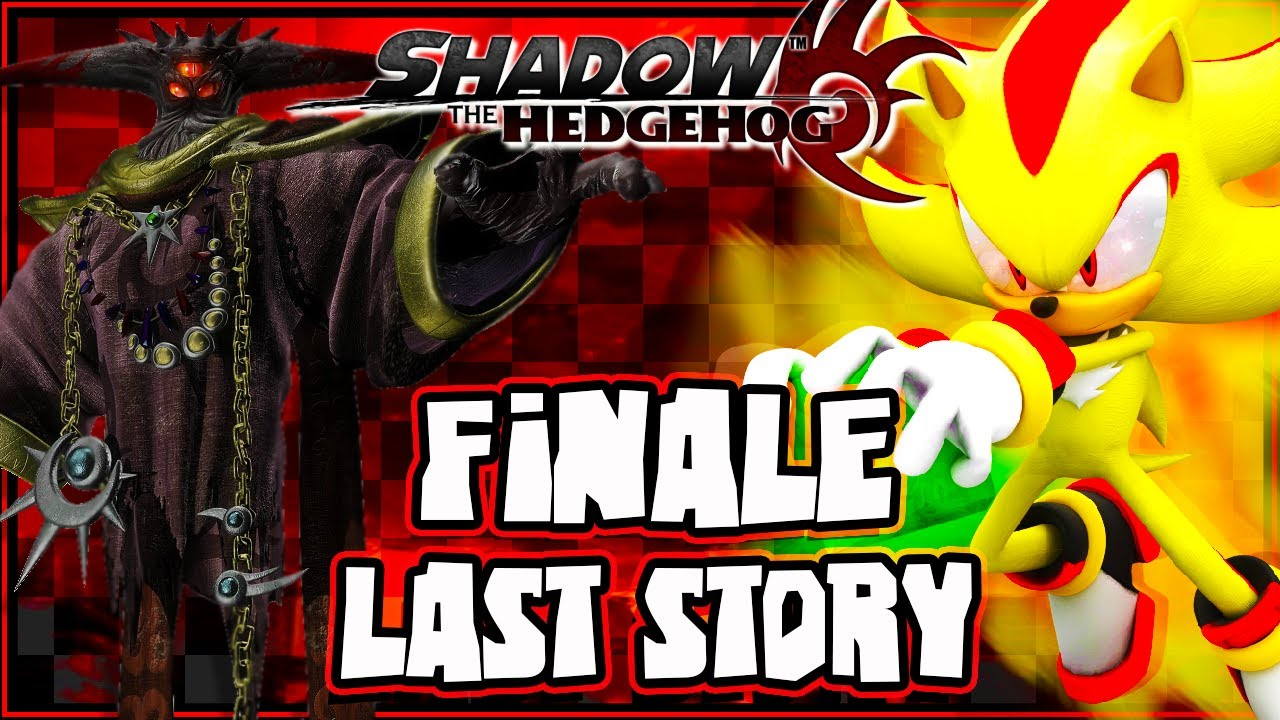 Shadow the hedgehog 1080p last story finale youtube - The last story hd ...