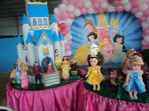 DECORAÇÃO DE FESTA INFANTIL-TEMA PRINCESAS