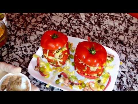 مطبخ أم سامي | وصفة ميل فوي بالطماطم * سلطة مبتكرة سهلة و لذيذة ستغزو مطاعم الوجبات السريعة!