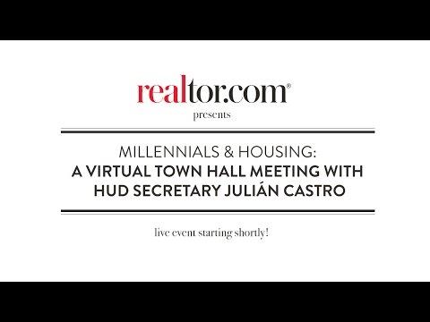 Millennials & The Housing Market: A live Town Hall with HUD Secretary Julián Castro and realtor.com®