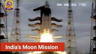ISRO Chandrayaan 2 Launch: India's Moon Mission, Launched From Sriharikota