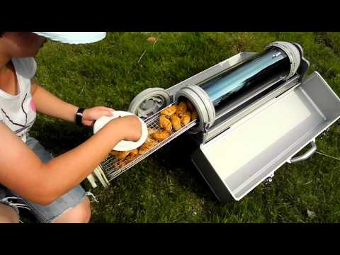 Solar BBQ Grill For slow cooking without electricity, fire or gas ...