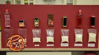 Praktična žena - Koliko sokovi i čokolade u sebi sadrže šećera