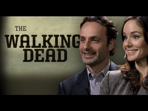 """Walking Dead"" Stars Andrew Lincoln & Sarah Wayne Callies Interview 