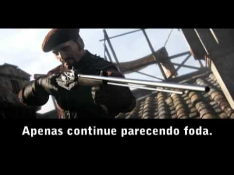 Assassin\'s Creed Brotherhood legendado kkkk