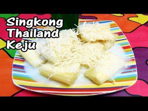 Resep Cara Membuat Singkong Thailand Tabur Keju