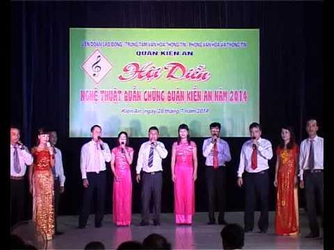Hội diễn nghệ thuật quần chúng chào mừng kỷ niệm 85 năm ngày thành lập Công đoàn Việt Nam