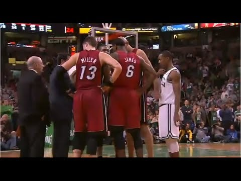 Joining the Wrong Huddle in Basketball (Eavesdropping)