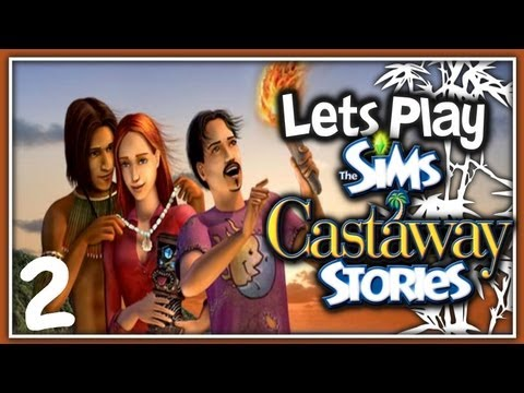 Let's Play: The Sims Castaway Stories - (Part 2) - Moving on out