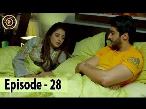 Shiza Episode 28 - 14th October 2017 - Sanam Chaudhry - Aijaz Aslam - Top Pakistani Drama