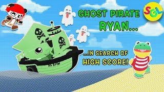 Ghost Pirate on Ghost Ship - Epic TAG WITH RYAN Gameplay Highest Score | Ryan ToysReview Game App